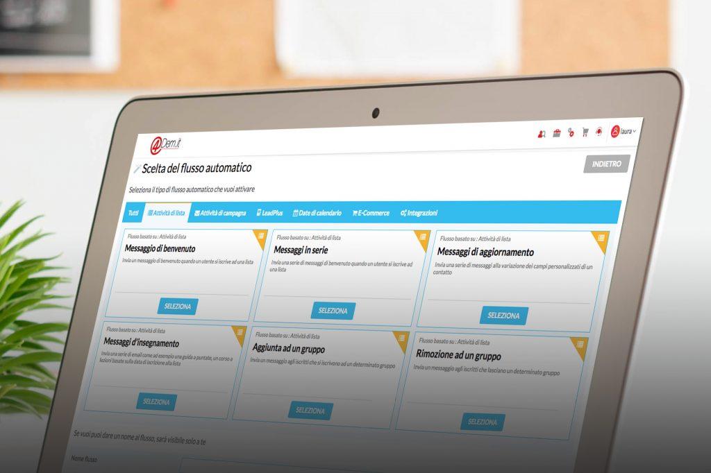 Welcome email: le email transazionali che creano un primo contatto con il potenziale cliente