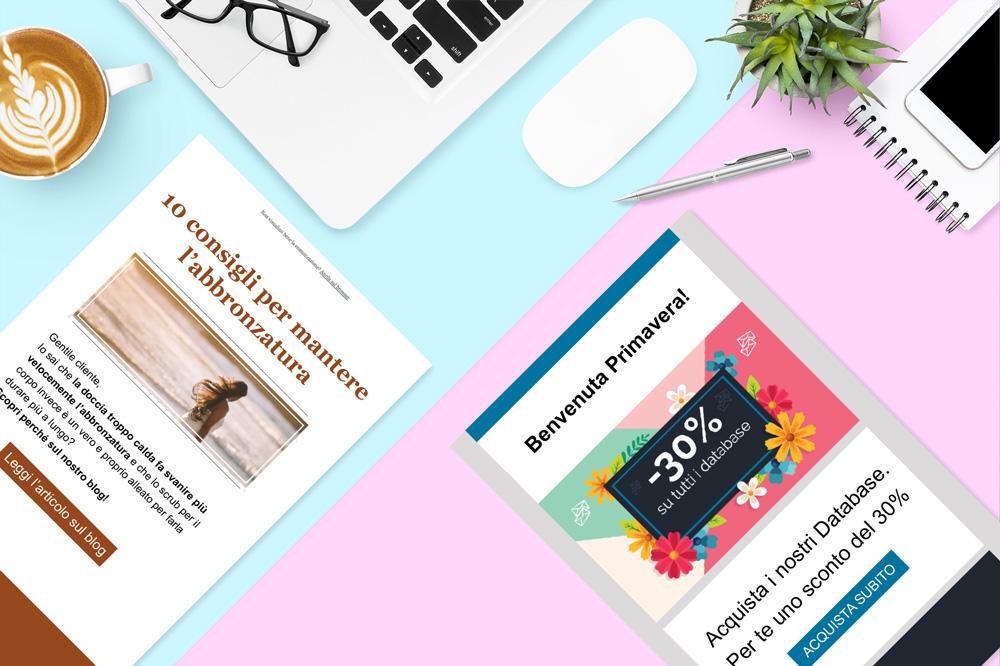 newsletter e dem differenza e definizione acronimo dem